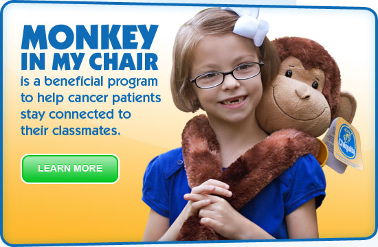 Learn more about the Monkey In My Chair Program.